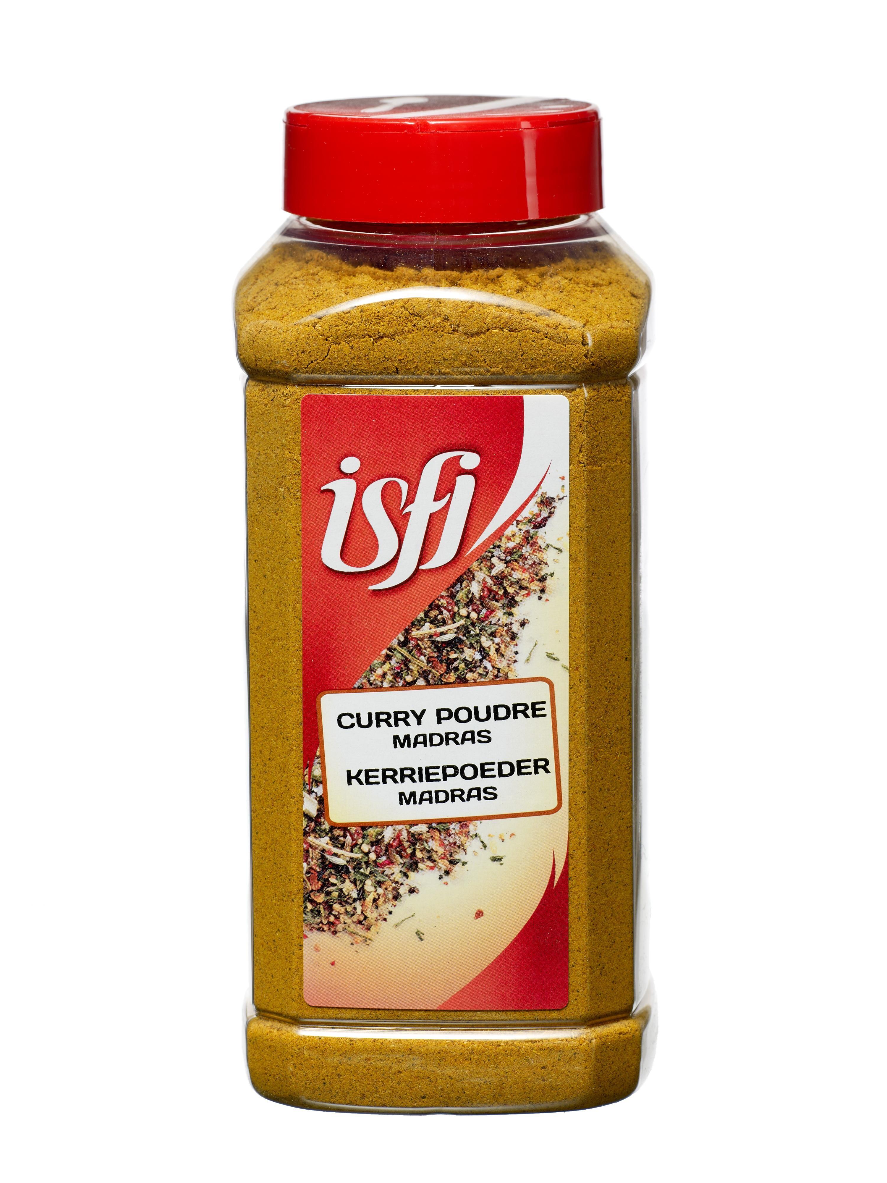 Curry madras powder 450g Pet Jar Isfi