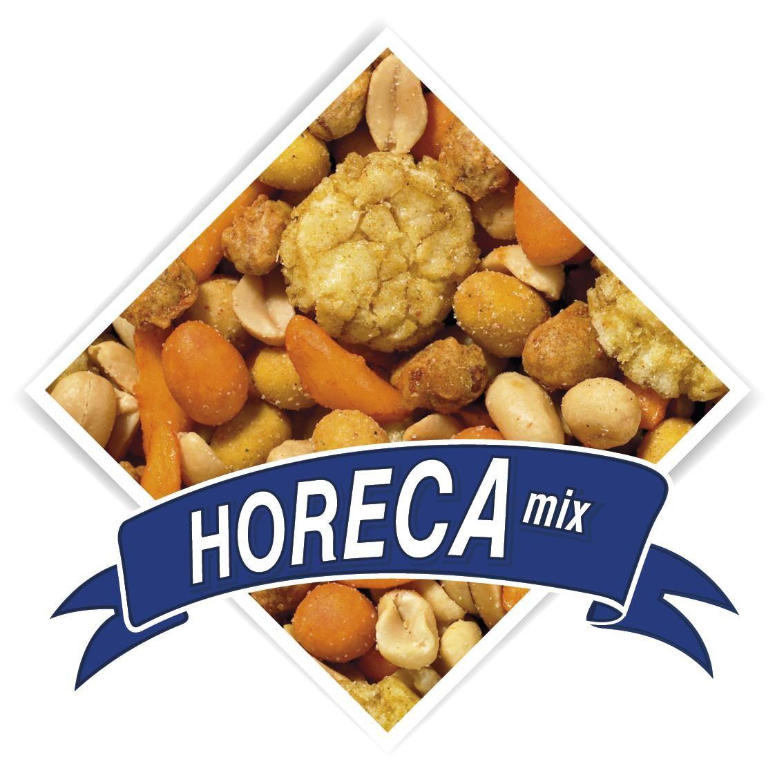 Horeca mix, coated and salted  Peanuts 10L 5kg De Notekraker