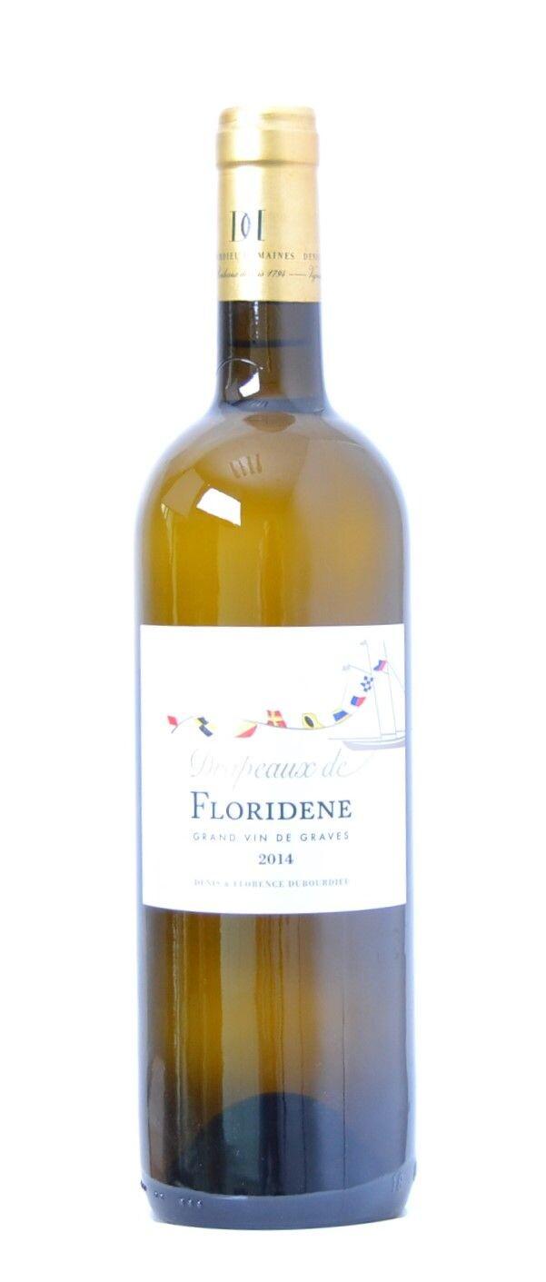 Drapeaux de Floridene White  75cl 2014 Grand Vin de Graves