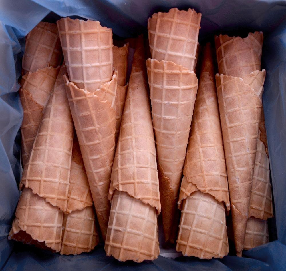 Ice Cream Cone Biscuit 84pcs Harry's L17cm/D4.4cm