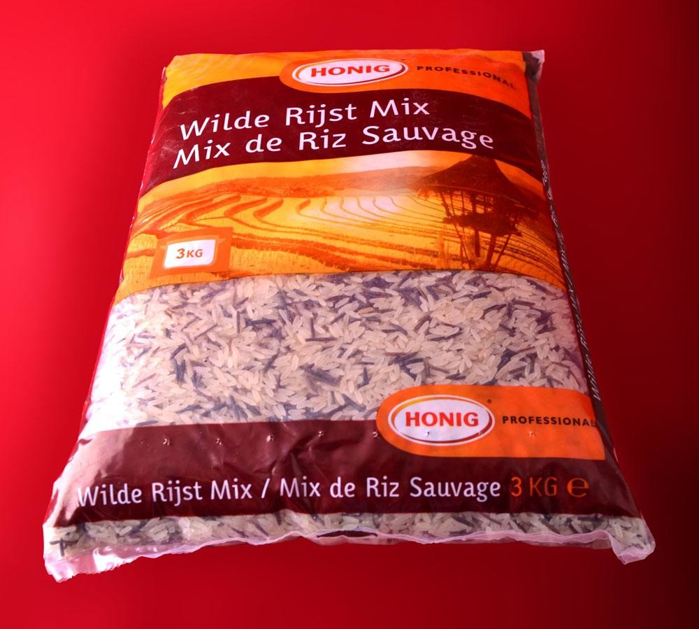 Wilde Rijstmix 3kg Honig Professional