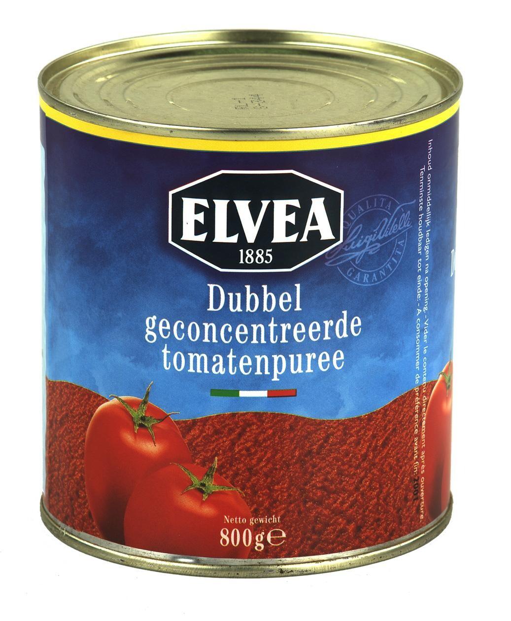 Elvea Gran Cucina double tomato paste 28/30% 800g