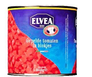 Elvea tomaten concassé=blokjes 3l