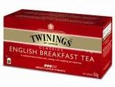 Twinings Tea English Breakfast 25 tea bags