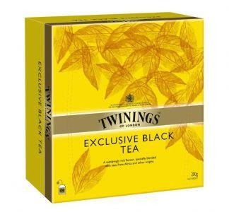 Twinings Tea exclusive black tea 100 tea bags Yellow Label