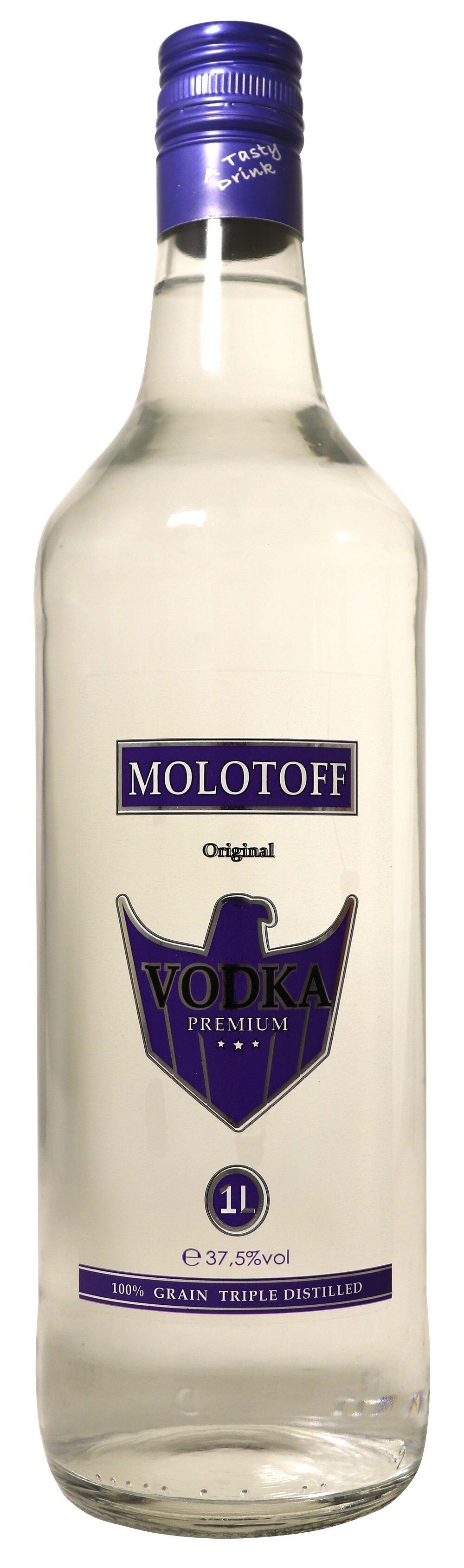 Vodka Molotoff 1L 37.5% Belgium