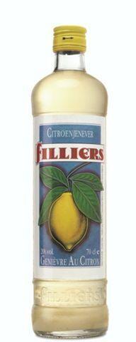 Filliers Lemon jenever 1L 20%