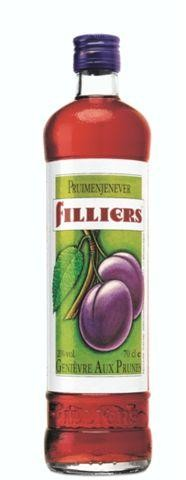 Filliers plums genever 1L 21%