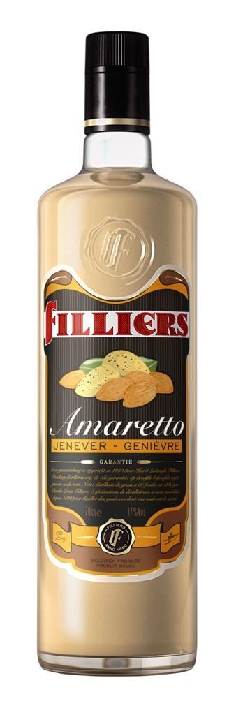 Filliers amaretto cream jenever 70cl 17%