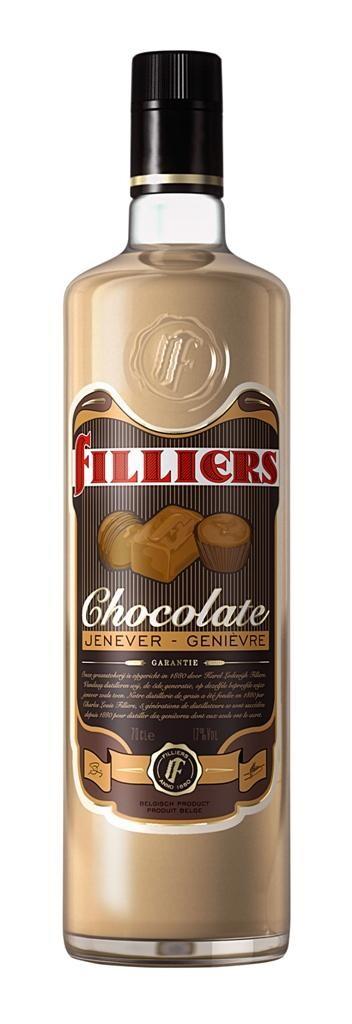 Filliers chocolate cream jenever 70cl 17%