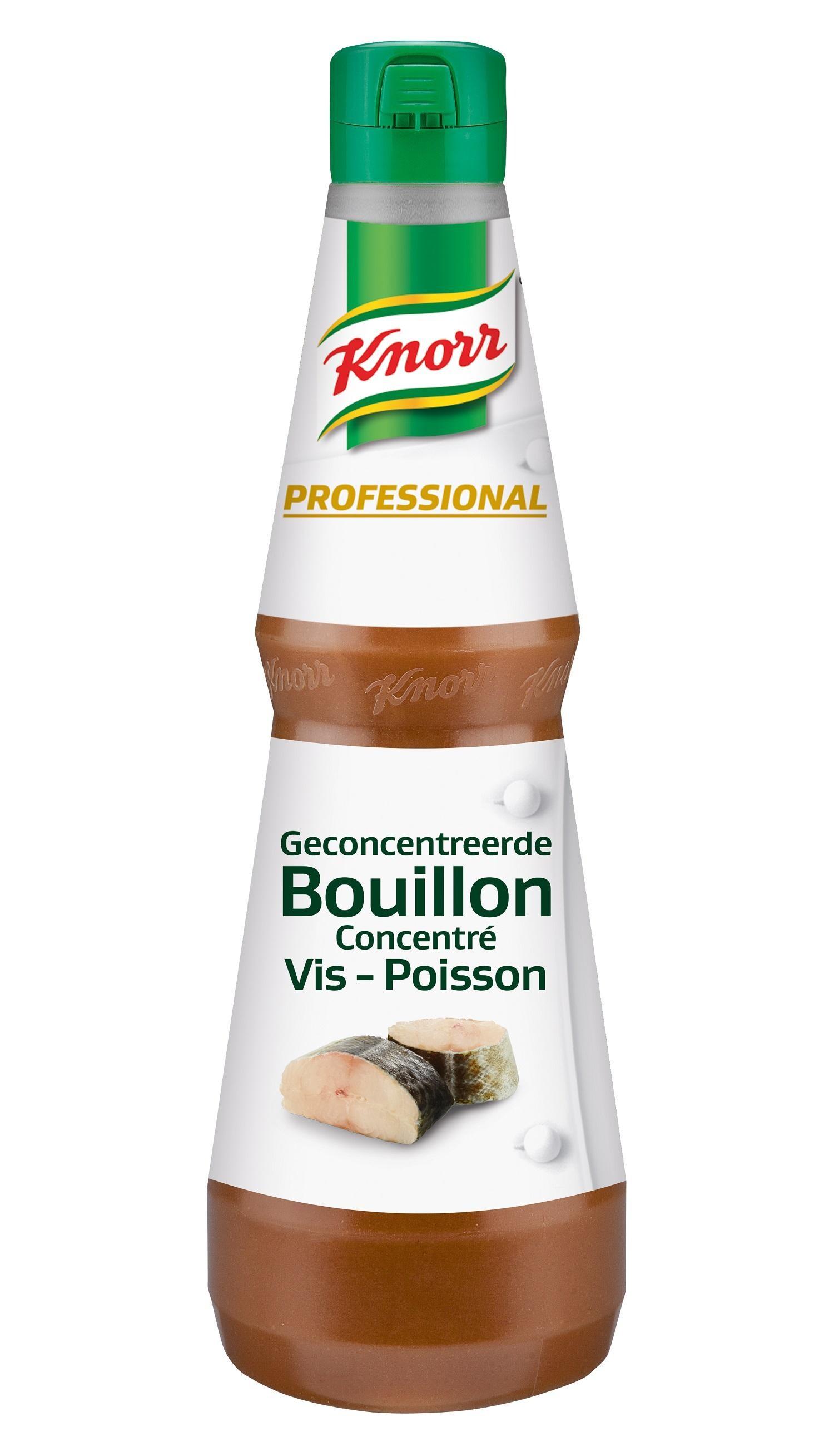 Knorr Geconcentreerde Visbouillon vloeibaar 1L Professional