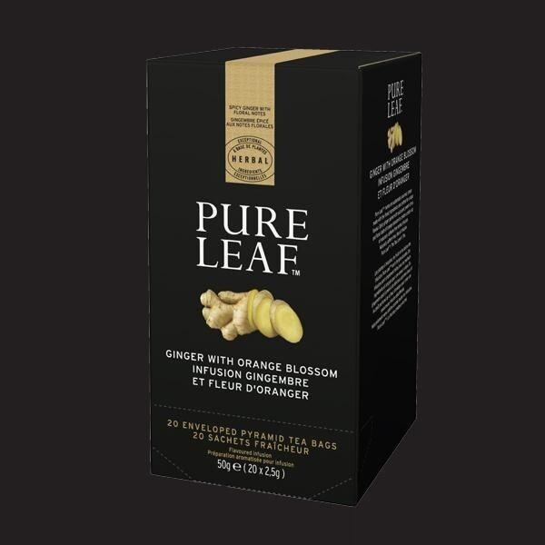 Pure Leaf Tea Ginger & Orange Blossom 20 tea bags