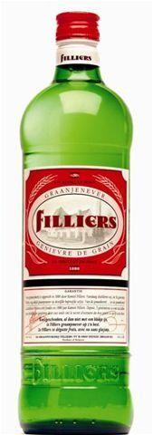 Filliers Grain Jenever 1L 30% glass bottle