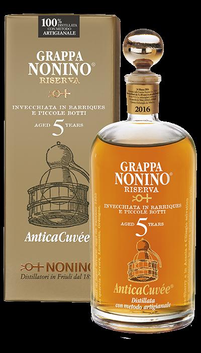Grappa Riserva 5 Years Old Antica Cuvée 43% Nonino Distillatori