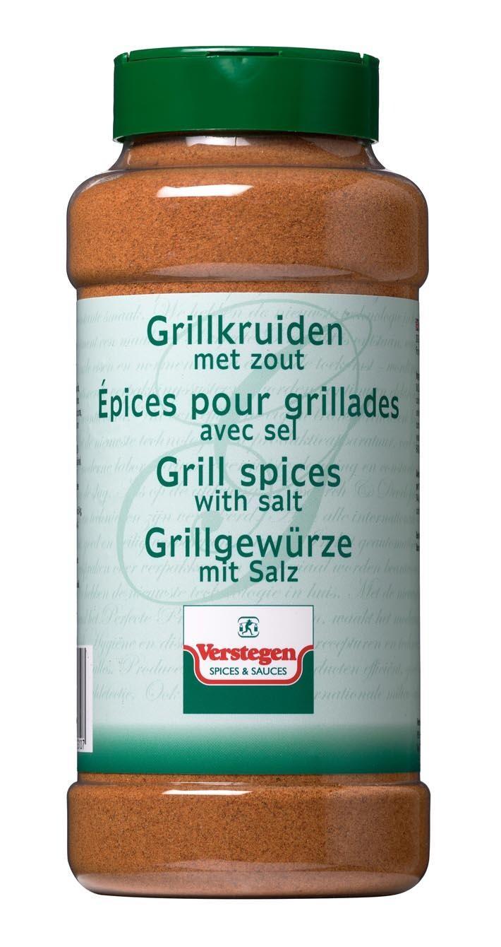 Verstegen grill Spices with salt 850gr 1LP