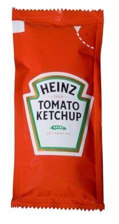 Heinz tomato ketchup 10ml pouches 200x11gr