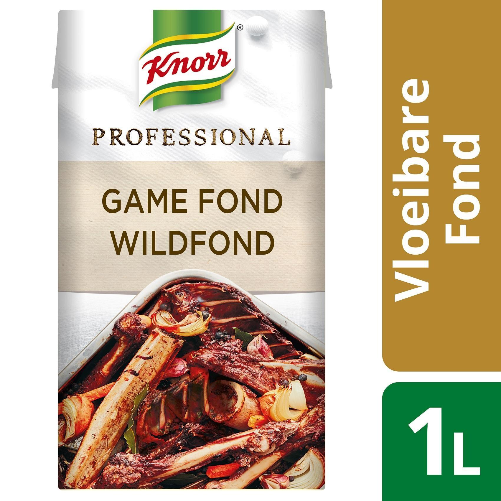 Knorr Liquid Game Fond 1L Professional