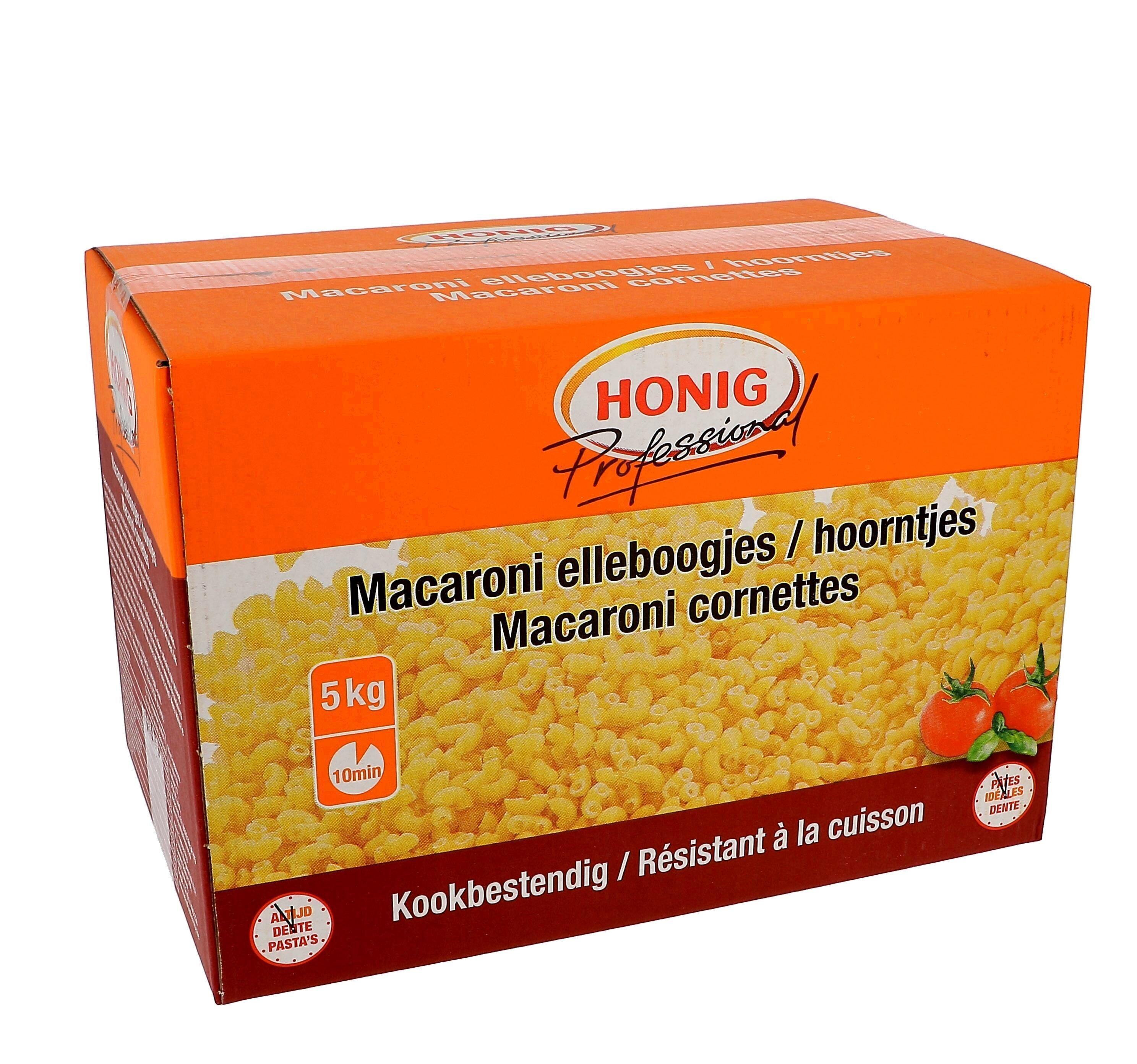 Honig cones (macaroni) 5kg pasta for soup