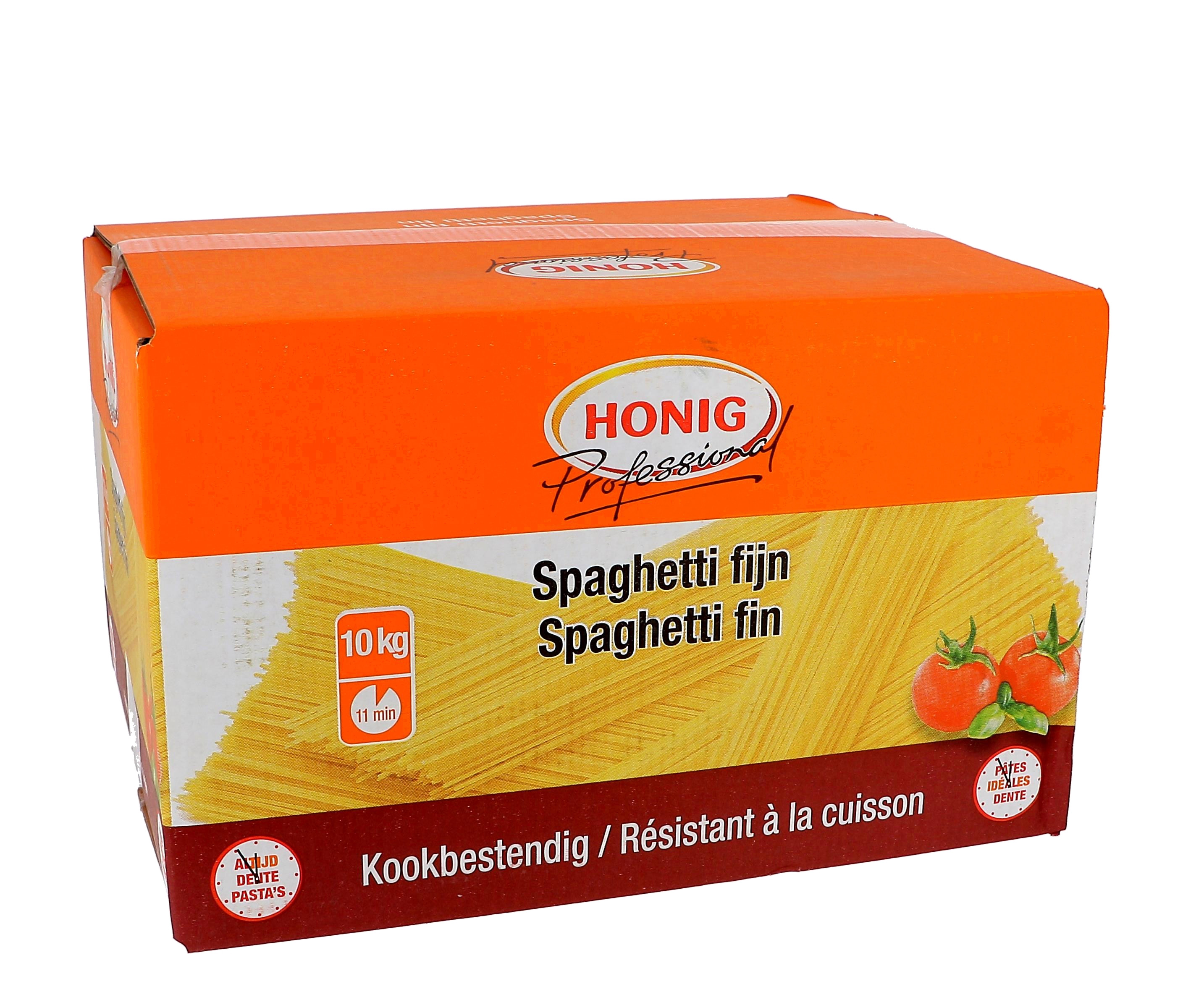 Honig fine spaghetti 10kg Professional cooking resistant