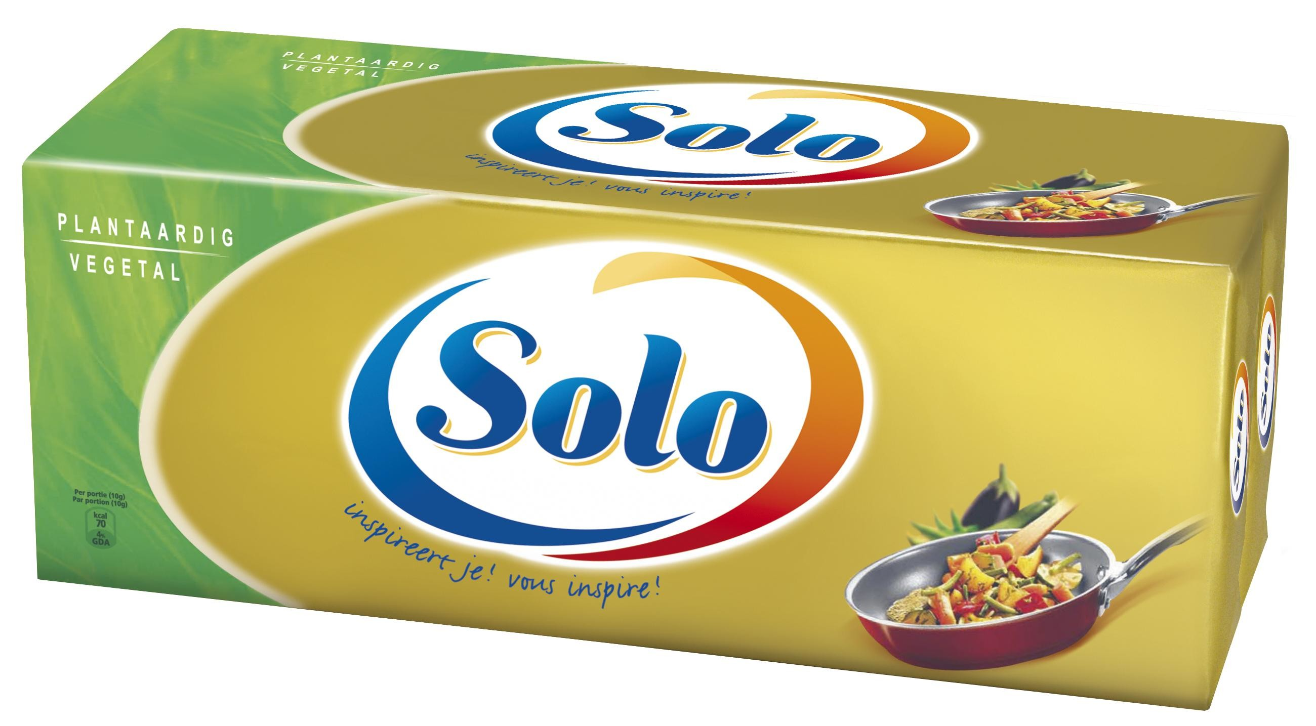 Solo margarine 4x2.5kg
