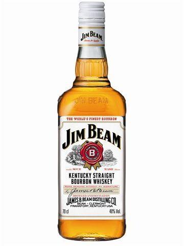 Jim Beam 1L 40% Kentucky Bourbon Whiskey