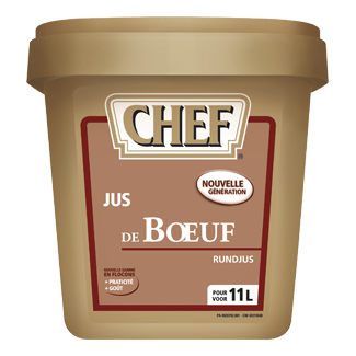 Chef Beef Jus powder 600gr Nestlé Professional