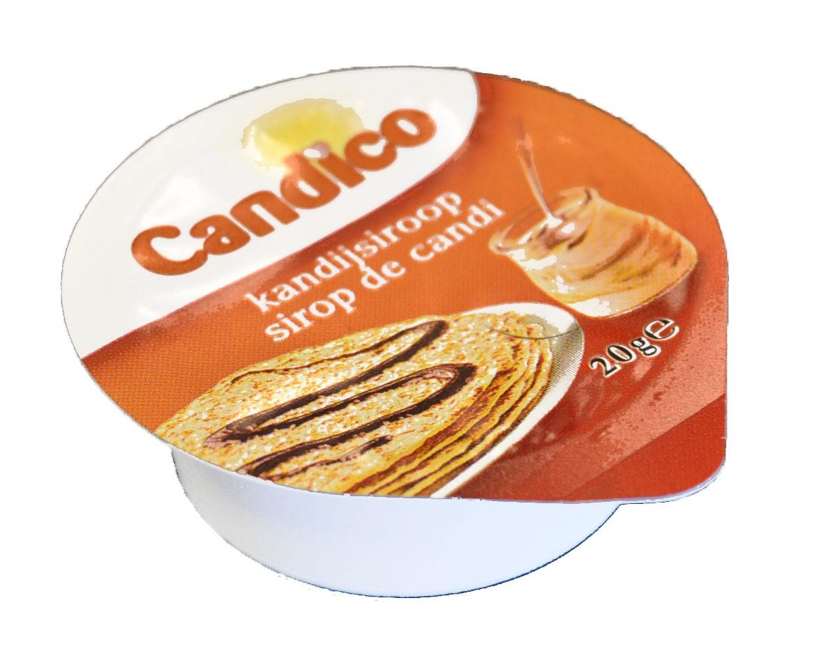 Candy sugar syrup portions 240x20gr Candico