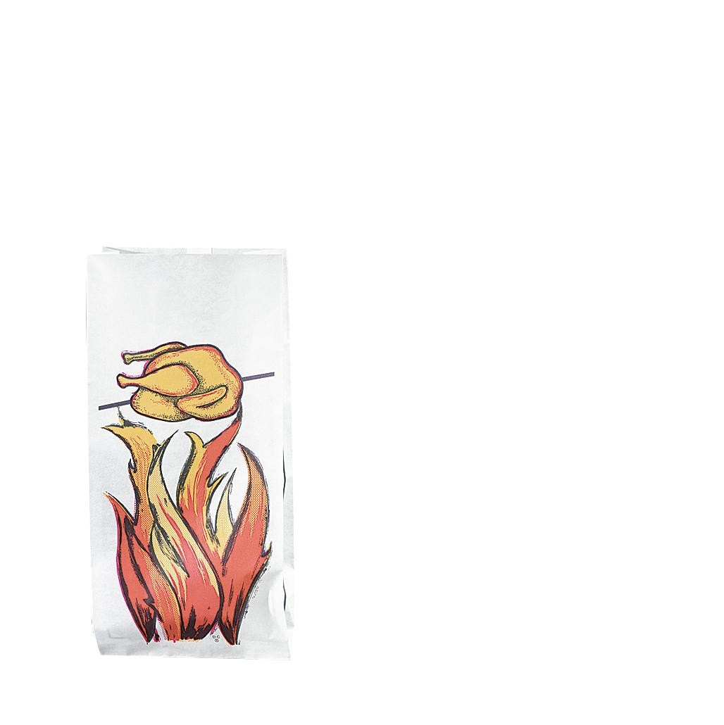 Hot Roasted Chicken Packaging Bags 500pcs