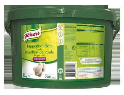 Knorr chicken bouillon powder dehydrated 5kg bucket