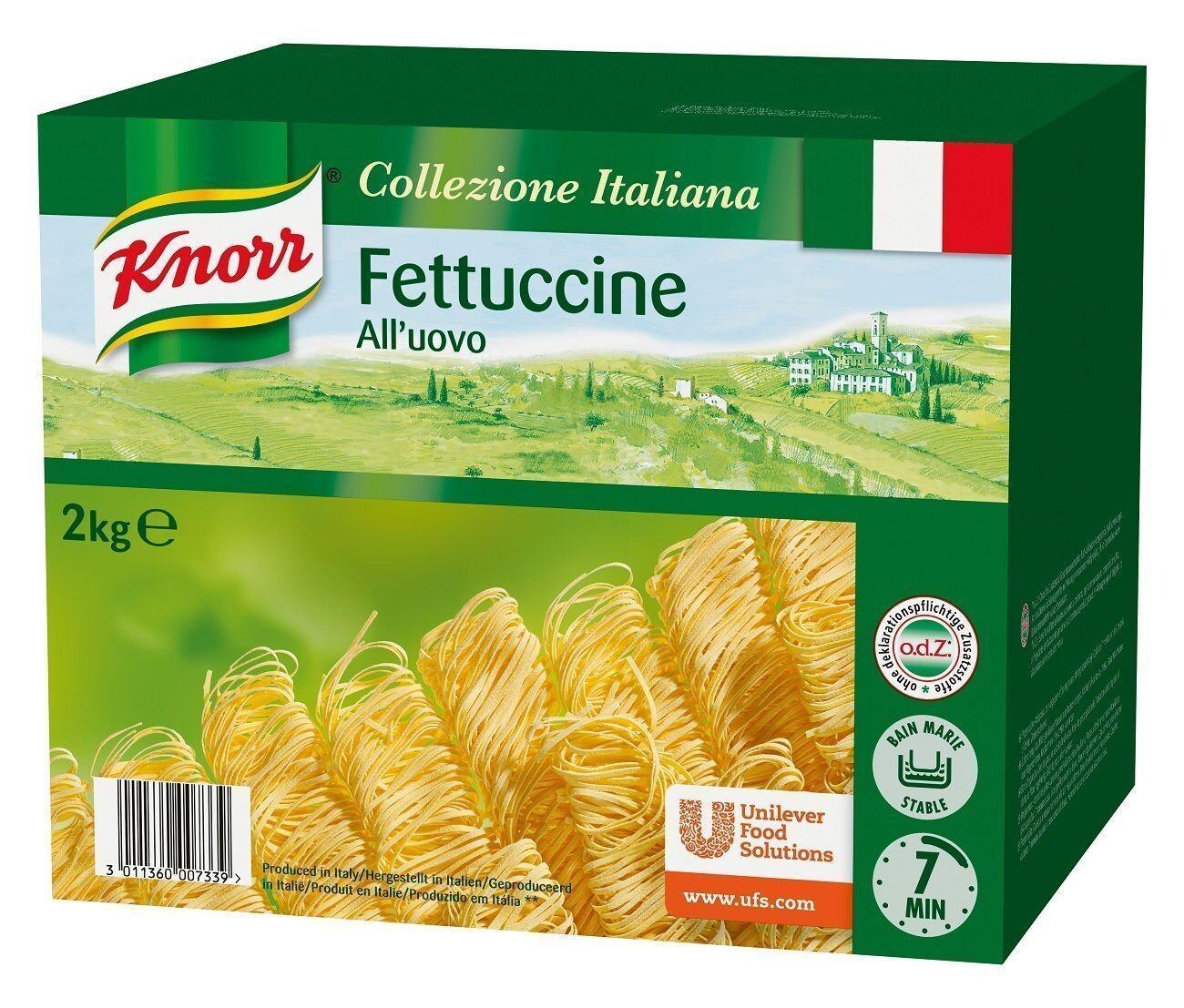 Fresh Egg Fettucine 2kg Knorr Collezione Italiana Pasta