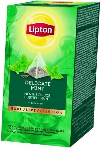 Lipton Tea Delicate Mint EXCLUSIVE SELECTION 30pcs