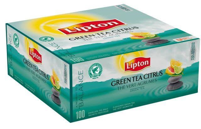 Lipton Thee Clear green citrus 100st