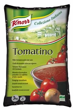 Knorr Tomatino 4x3kg bags Collezione Italiana