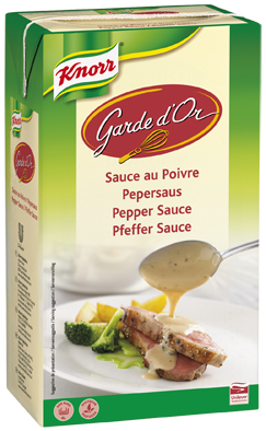 Knorr Garde d'Or sauce pepper 1L Ready to Use