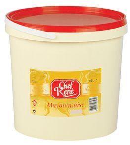 Mayonnaise ei 10L Chef Réné