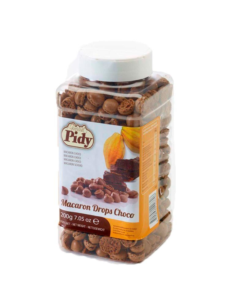 Pidy Mini Macarons Chocolade 200gr