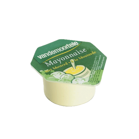Mayonnaise portions cups 120x20ml Risso Vandemoortele