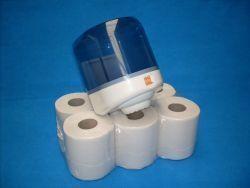 Midi paper towel roll white 320m 6pcs pure Cellulose