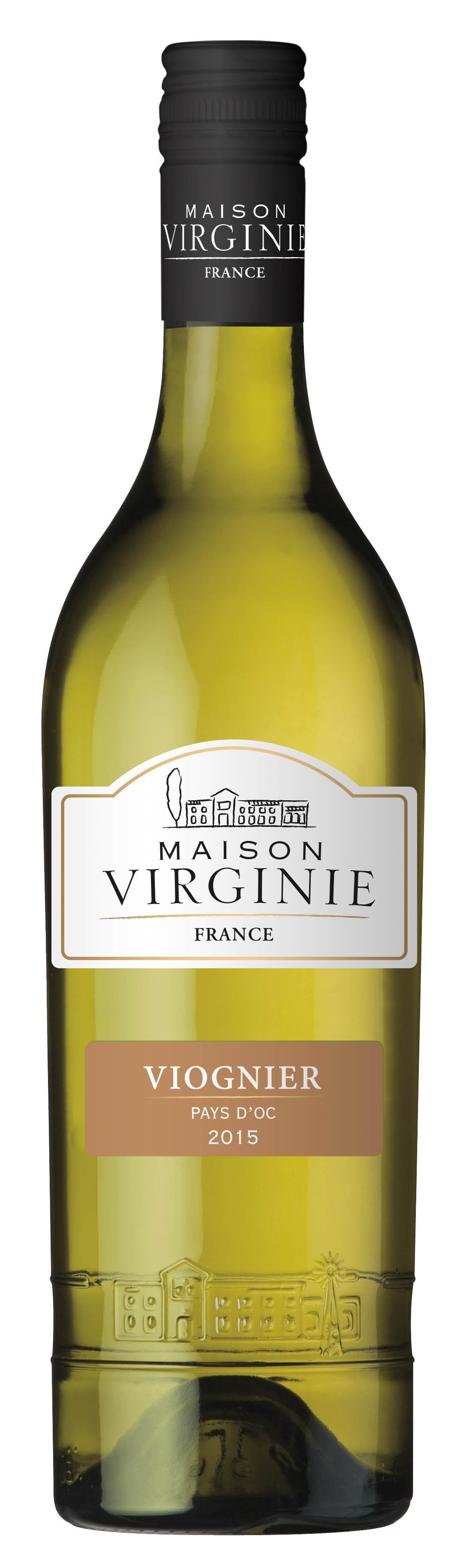 Viognier Maison Virginie 75cl Vin de Pays d'Oc