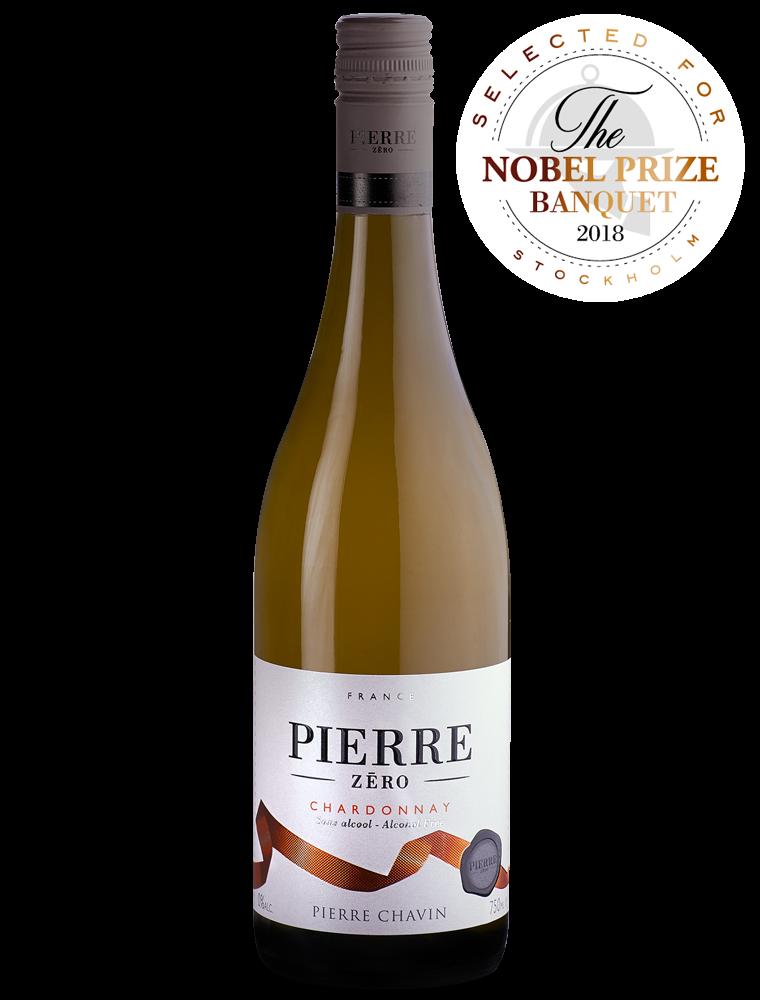 Pierre Zero Chardonnay White wine non alcoholic 75cl Domaines Pierre Zero