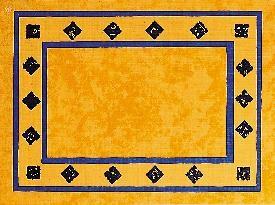 Paper Placemats Palazzo Blue 31x42cm 500pcs Lotus Professional