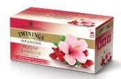 Twinings Tea Rosehip & Hibiscus herbal infusion 25 tea bags