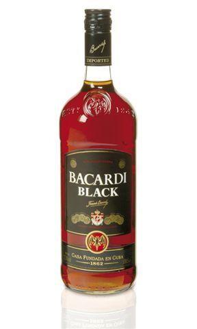 Rum Bacardi Premium Black 1L 37.5%