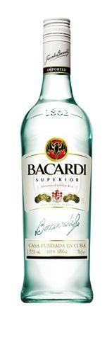 Rum bacardi superior 70cl 37.5%