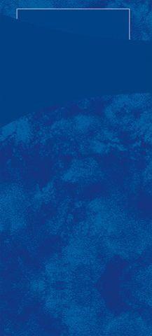 Duni Sacchetto Dark Blue 200x85 + Tissue Napkin Dark Blue 100pcs