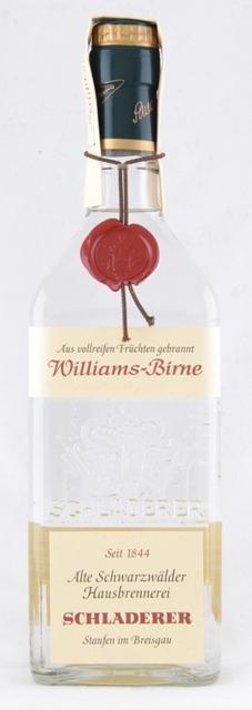 Williams Pear brandy 70cl 40% Schladerer
