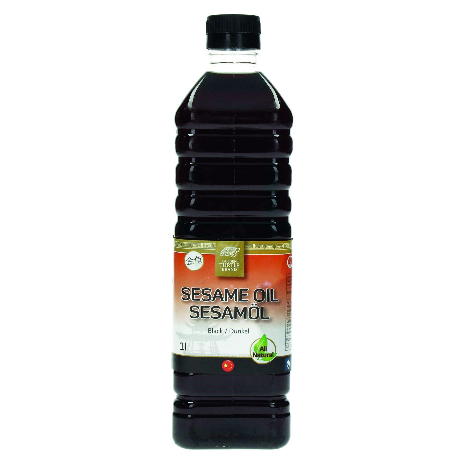 Sesame oil 1L Golden Turtle Brand for Chefs