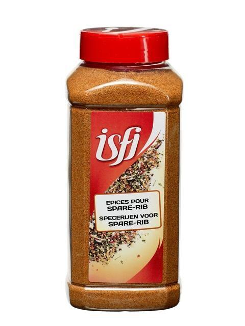 Specerijen voor Spareribs 875gr 1LP Isfi Spices