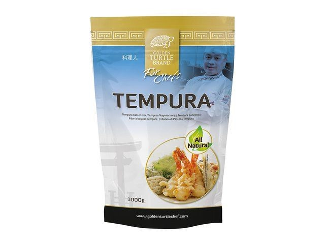 Tempura Flour Batter mix 1kg Golden Turtle Brand for Chefs