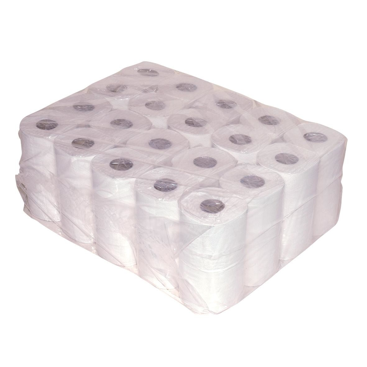 Toilet Paper 2 ply 12x4 rolls Tissue 200 Sheets